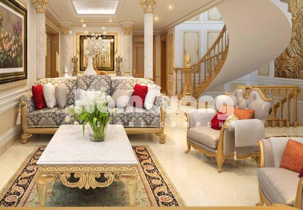 Mẫu nội thất phòng khách sang trọng