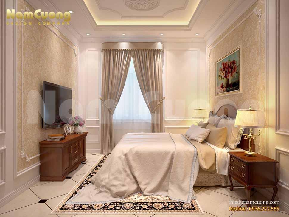 nội thất phòng ngủ 25m2