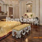 Mẫu thiết kế nội thất phòng ngủ kiểu Pháp