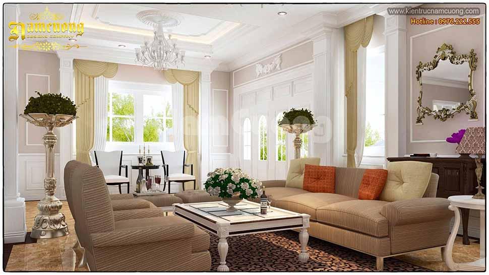 không gian phòng khách đẹp