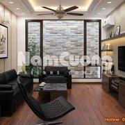 Mẫu phòng khách thiết kế nội thất hiện đại rộng 30 m2