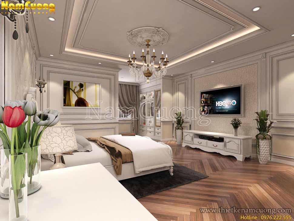 nội thất phòng ngủ 30m2 đẹp