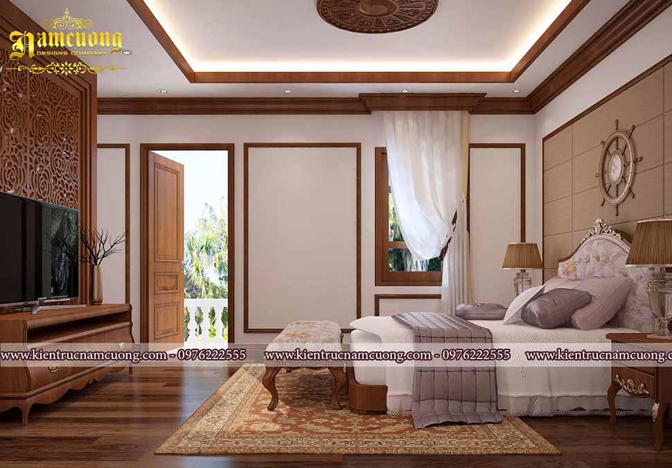 phòng ngủ đẹp rộng 18m2