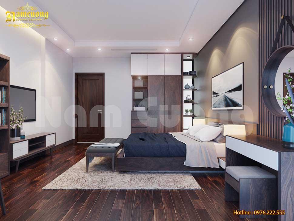 phòng ngủ bố mẹ phong cách hiện đại