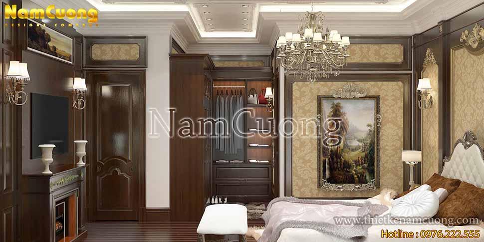 mẫu phòng ngủ đẹp tân cổ điển