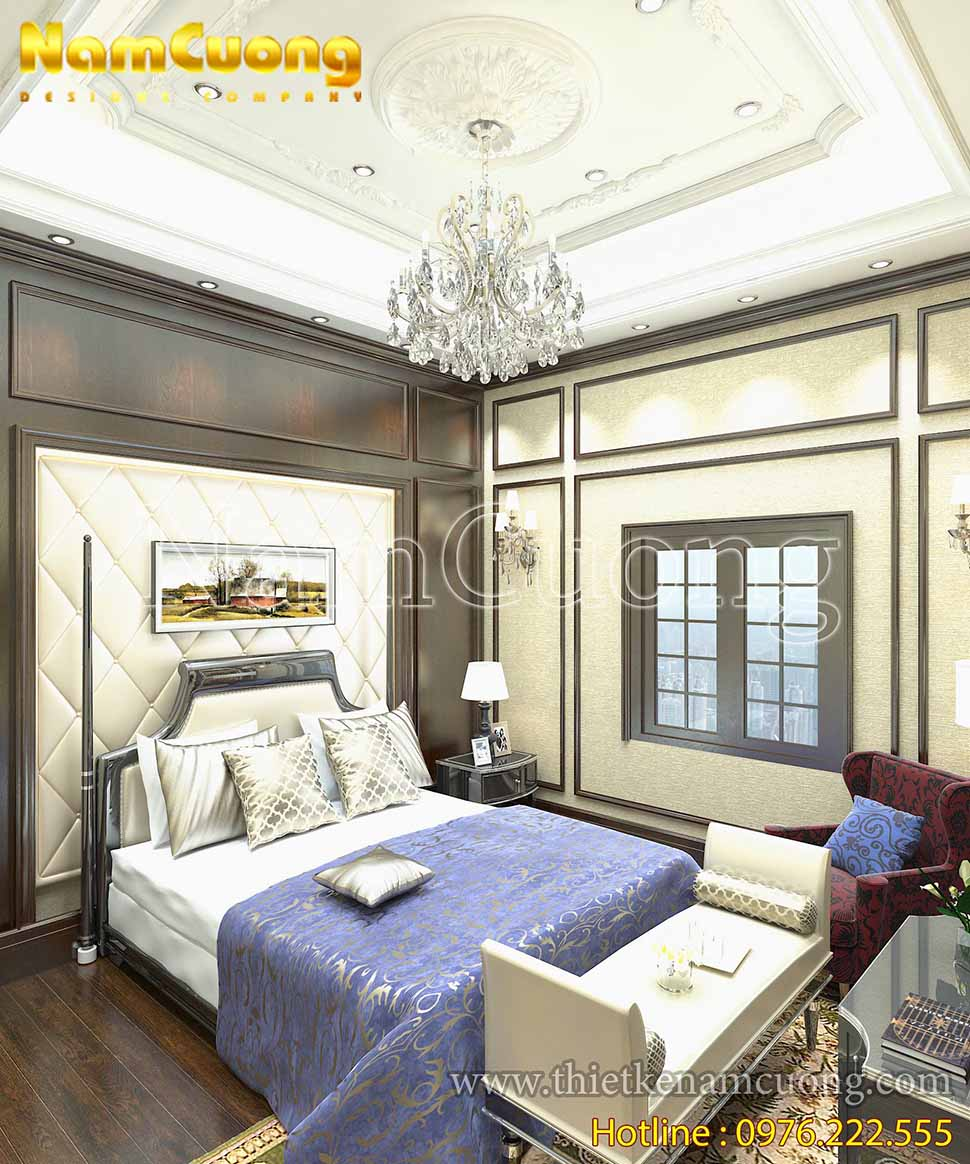 trang trí phòng ngủ bố mẹ
