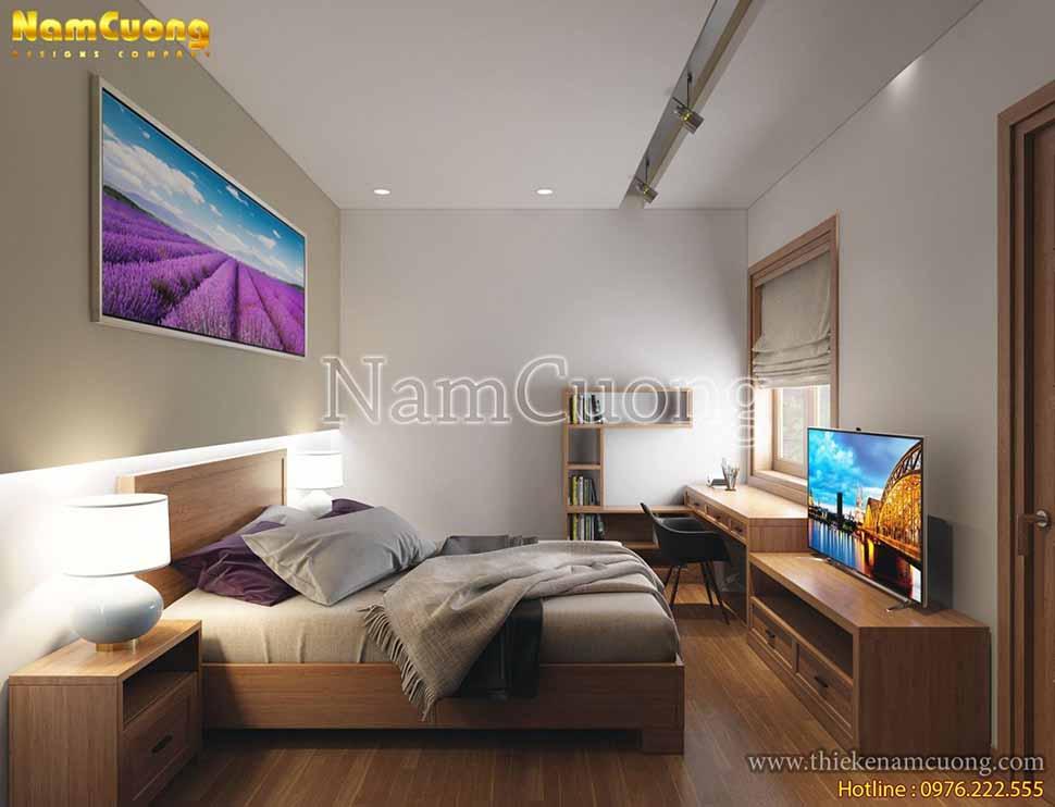 phòng ngủ hiện đại nhỏ