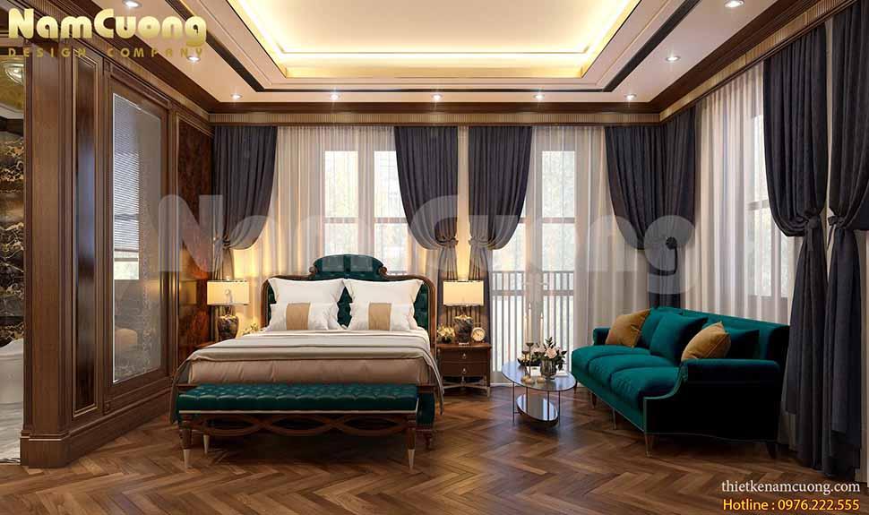 phòng ngủ khách sạn đẹp