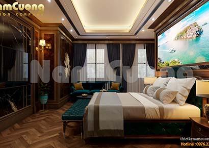 thiết kế phòng ngủ khách sạn đẹp