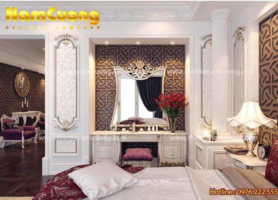 phòng ngủ nội thất Pháp