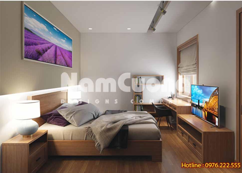 Mẫu phòng ngủ thiết kế nội thất hiện đại tại Hải Phòng