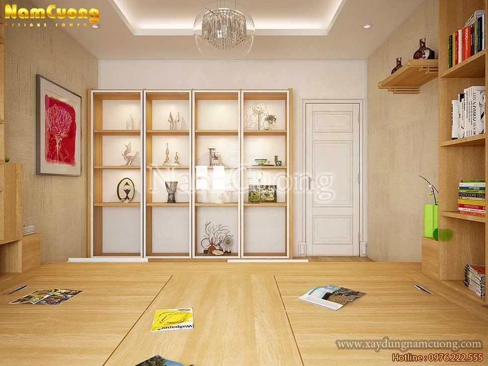 nội thất hiện đại cho phòng chơi
