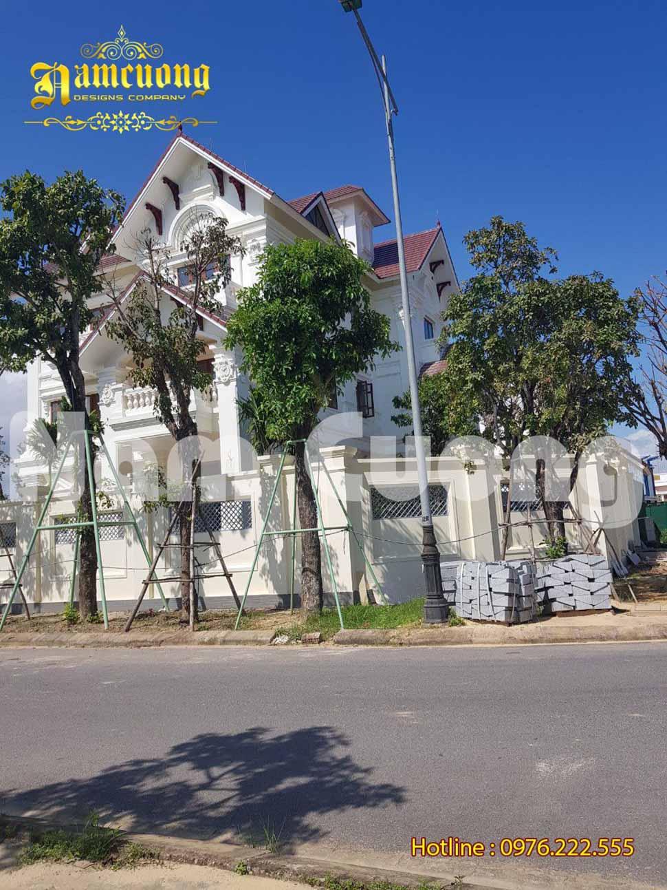 Hoàn thành thi công biệt thự trọn gói tại Quảng Bình