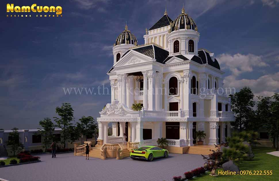 kiến trúc biệt thự lâu đài đẹp