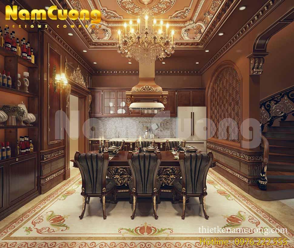 thiết kế biệt thự lâu đài pháp đẹp