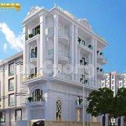 Mẫu thiết kế khách sạn 6x17m tại Hải Phòng