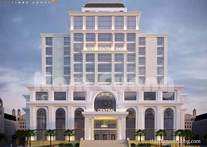 Mẫu thiết kế khách sạn hiện đại của NCDC