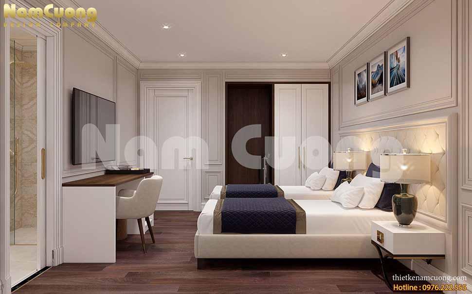 thiết kế khách sạn mặt tiền 10m