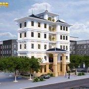 Mẫu thiết kế khách sạn tân cổ điển 5 tầng tại Quảng Ninh