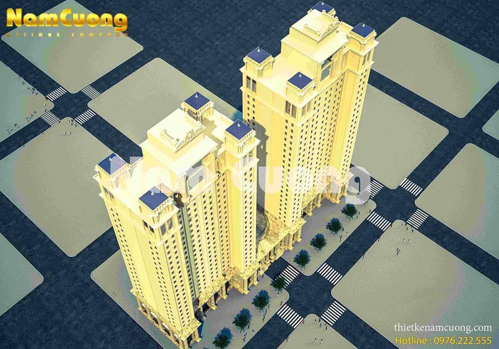 thiết kế khu đô thị cao cấp