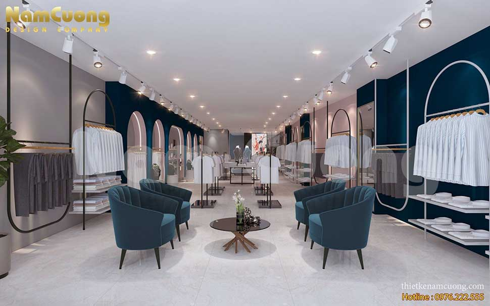 khu khách đợi thiết kế nhà 2 tầng kinh doanh