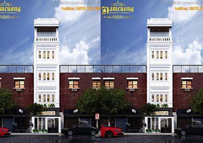 Mẫu thiết kế nhà phố đẹp tại Hà Nội