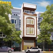 Mẫu thiết kế nhà phố mặt tiền 4m phong cách hiện đại
