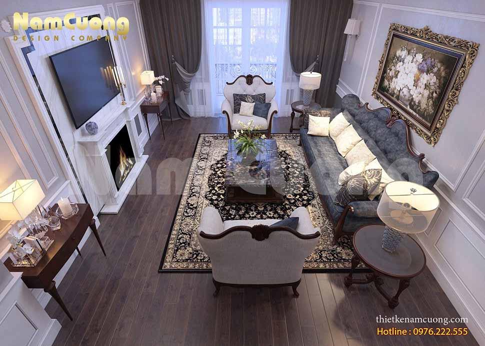 Cường sẽ giới thiệu đến quý khách hàng cách bố trí công năng cho một ngôi biệt thự được thiết kế theo phong cách tân cổ điển rộng lớn, sang trọng. Mời quý khách hàng cùng chiêm ngưỡng toàn bộ thiết kế nội thất biệt thự đẹp nhất.