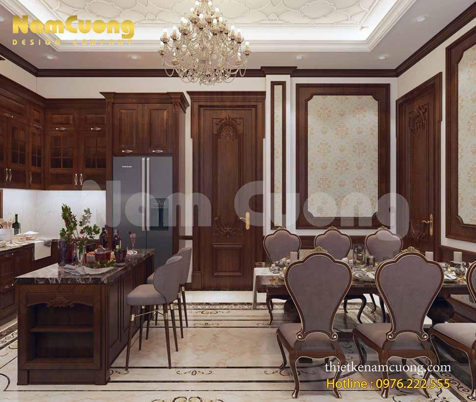 thiết kế nội thất lâu đài