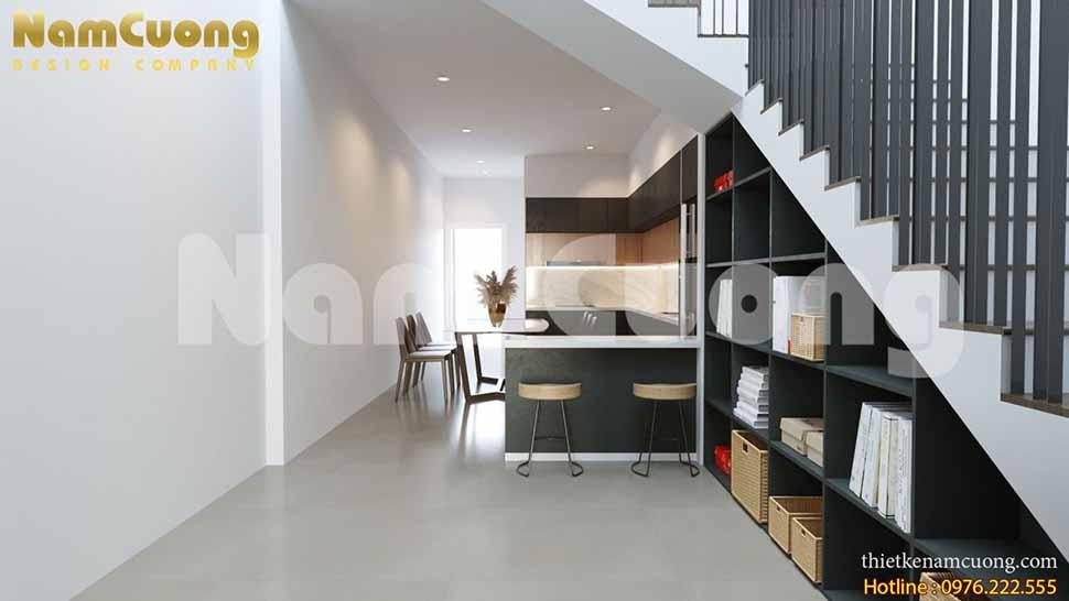 thiết kế nội thất nhà phố 5m