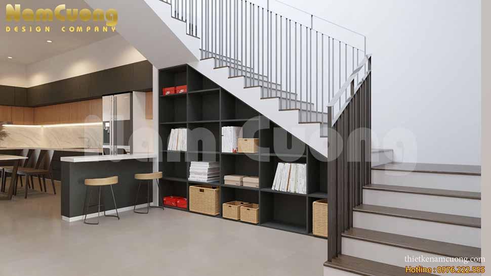 nội thất nhà ống 5m hiện đại