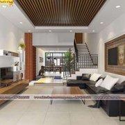 Mẫu thiết kế nội thất nhà phố hiện đại đẹp sang trọng