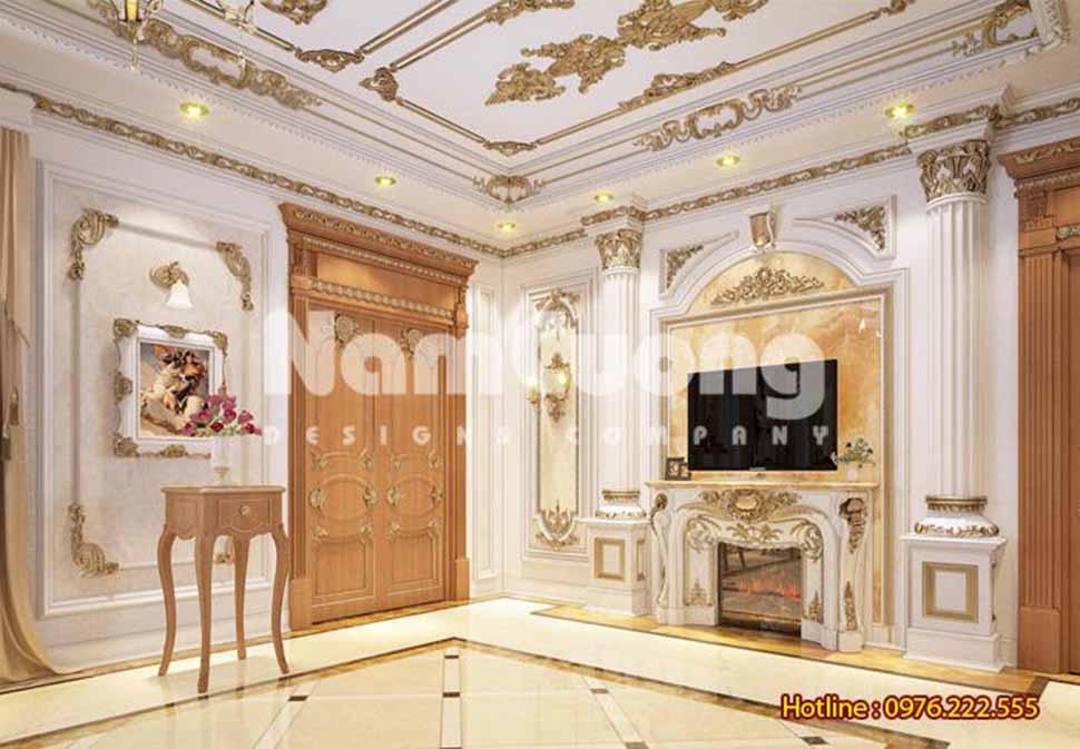 thiết kế nội thất phòng ăn kiểu Pháp