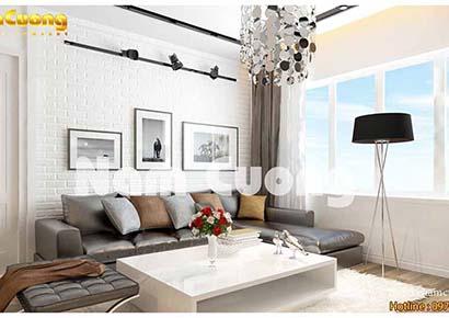 nội thất phòng khách chung cư 15m2