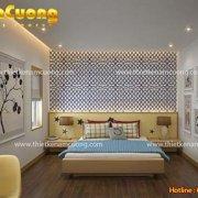 thiết kế nội thất phòng ngủ hiện đại ấn tượng