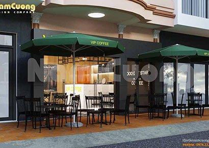 mặt tiền quán cafe