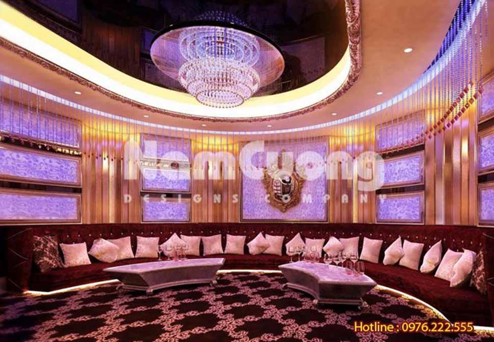 thiết kế phòng karaoke tại hà nội