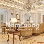 thiết kế phòng khách 50m2