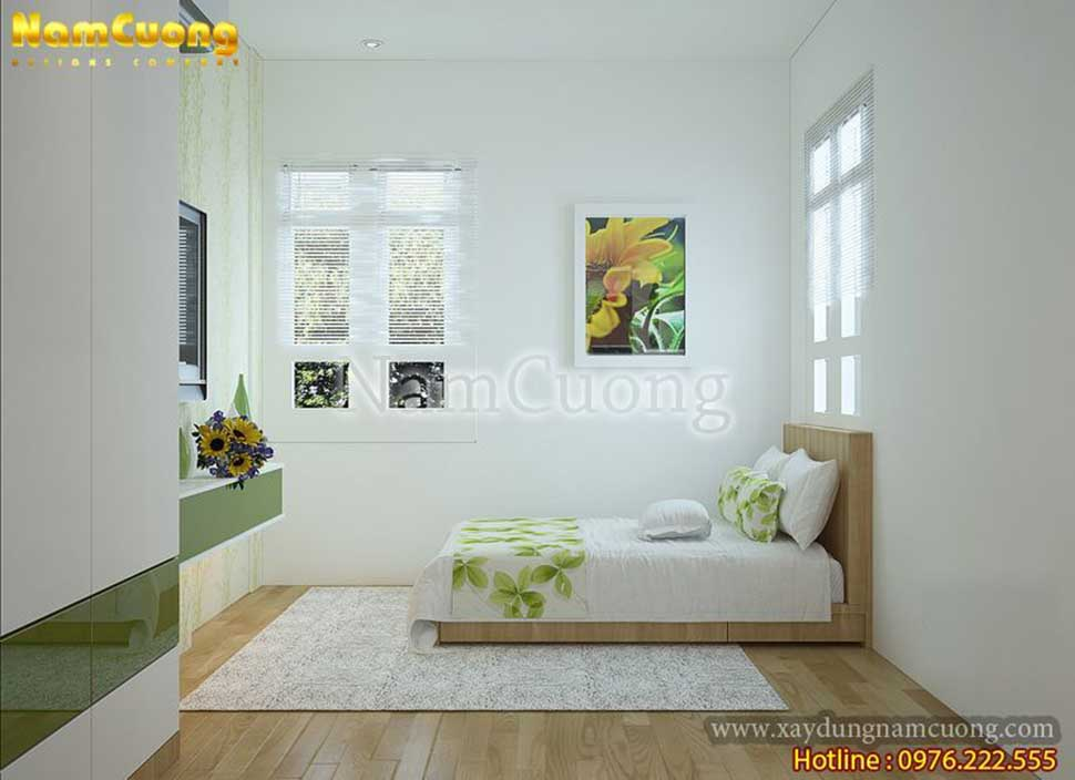 không gian nội thất phòng ngủ