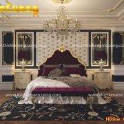 Mẫu phòng ngủ thiết kế nội thất Pháp đẹp mãn nhãn