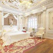Mẫu nội thất phòng ngủ cổ điển sang trọng tại Sài Gòn - PNCD 002