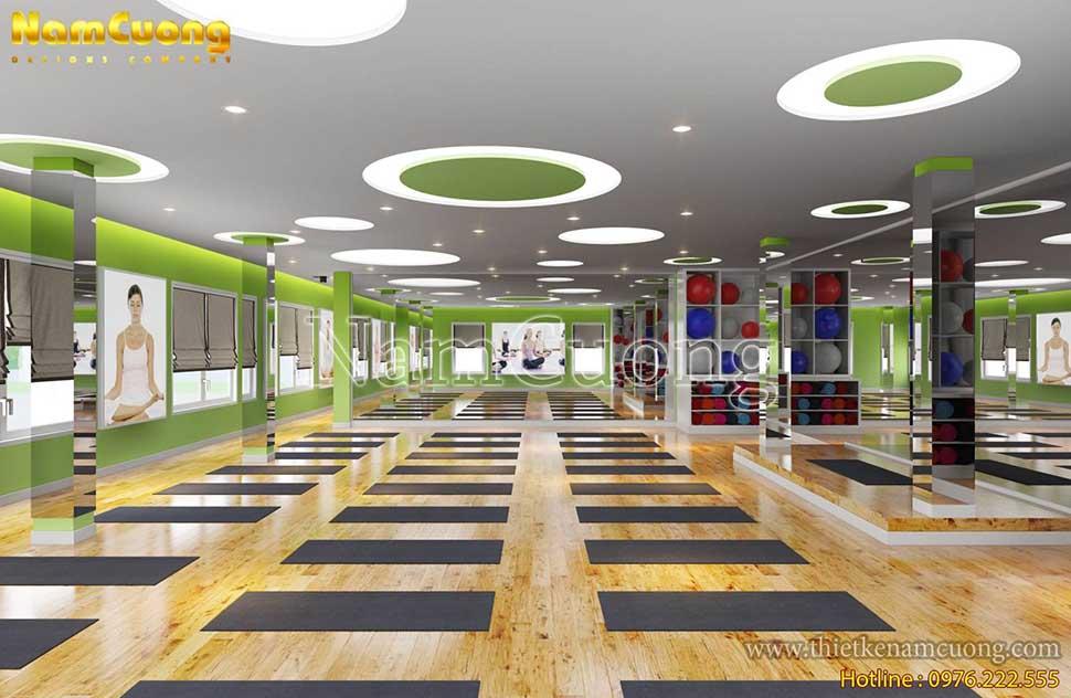 khu phòng tập yoga