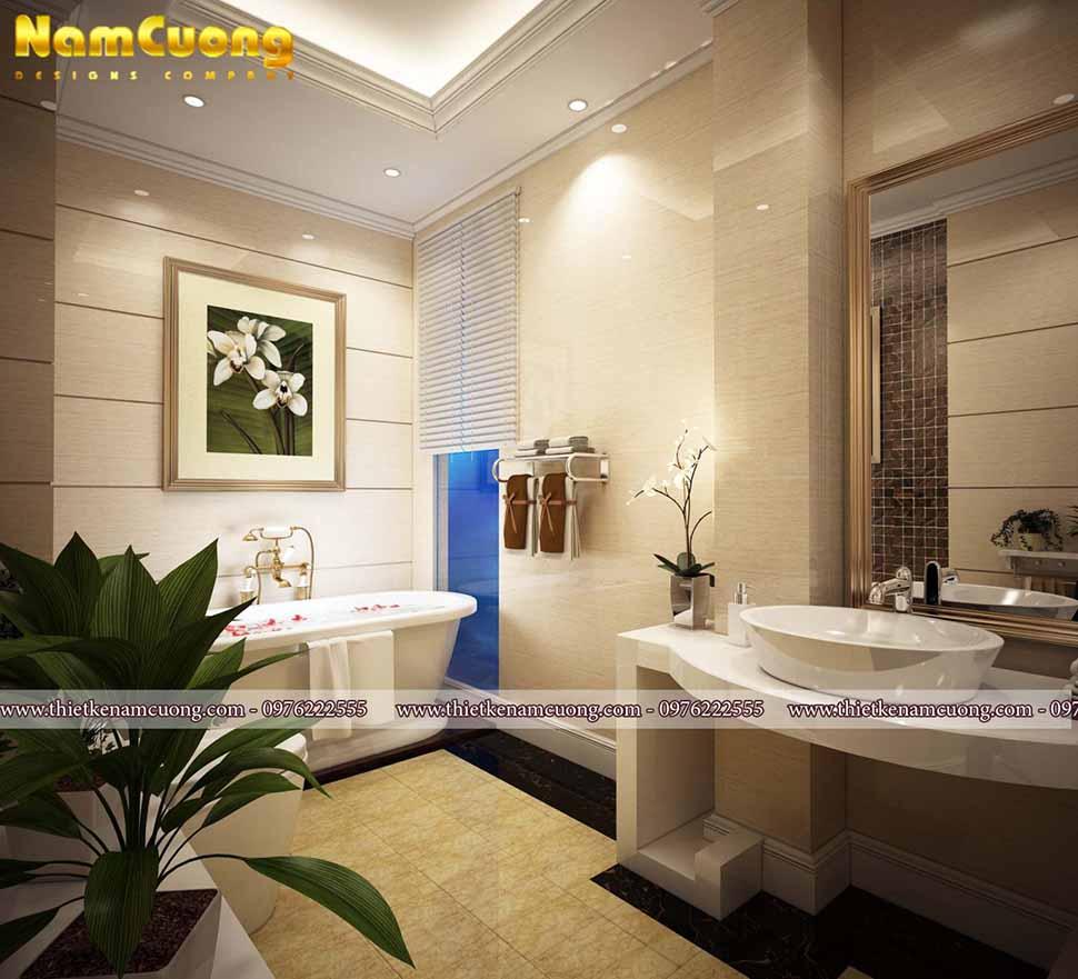 trang trí phòng vệ sinh hiện đại