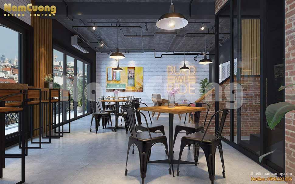 quán cafe 2 tầng