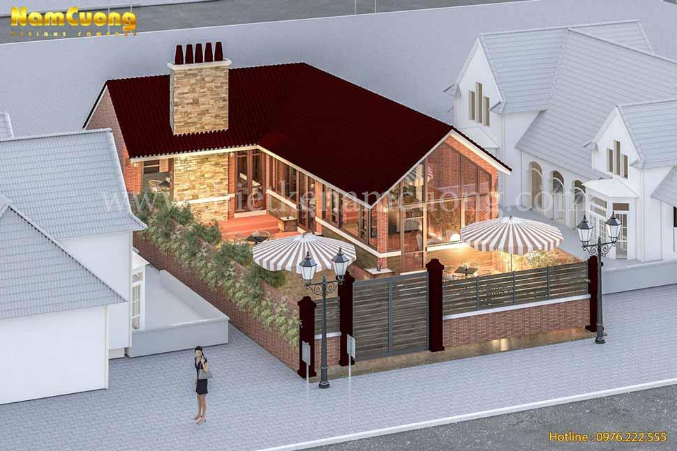 kiến trúc quán cafe đẹp