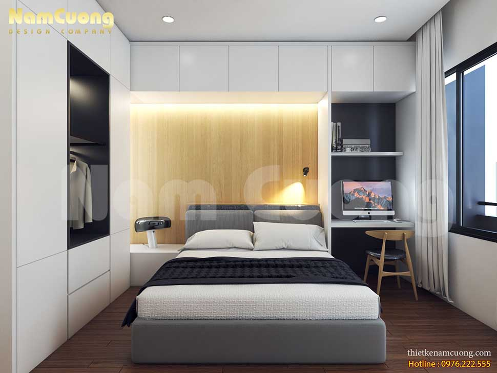 thiết kế phòng ngủ trong spa