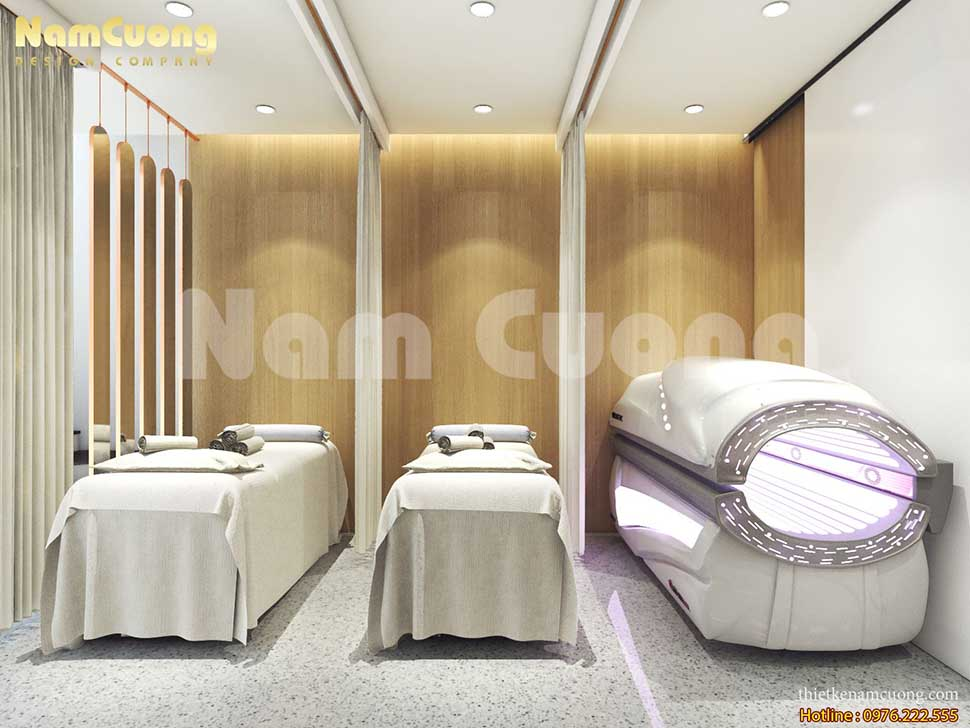 mẫu thiết kế spa chuyên nghiệp