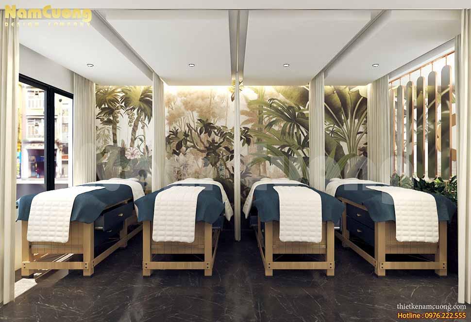 thiết kế nội thất spa tại nhà