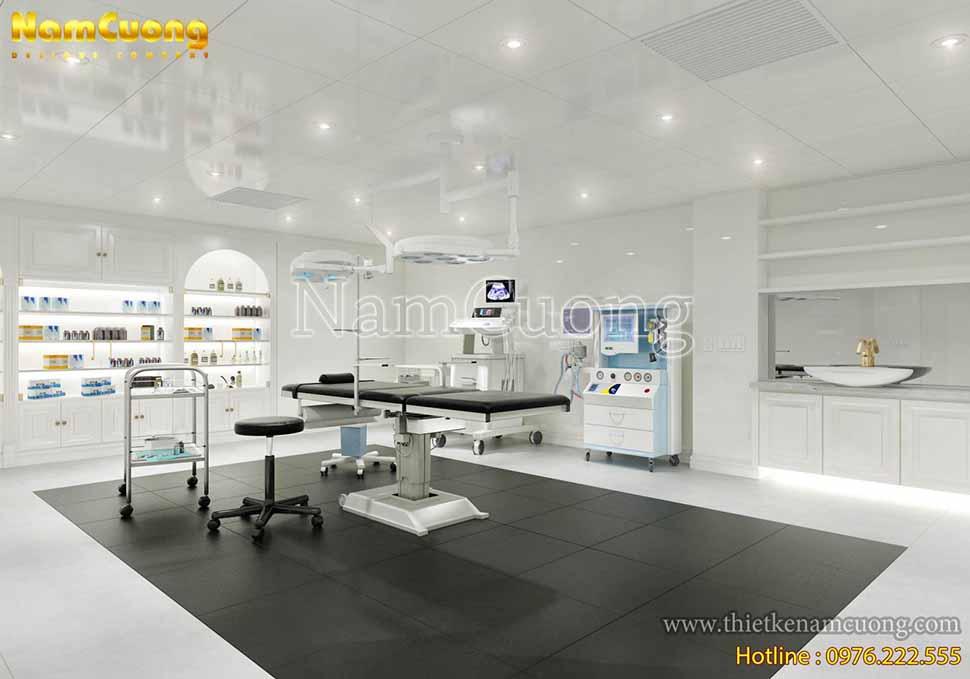 phòng phẫu thuật thẩm mỹ