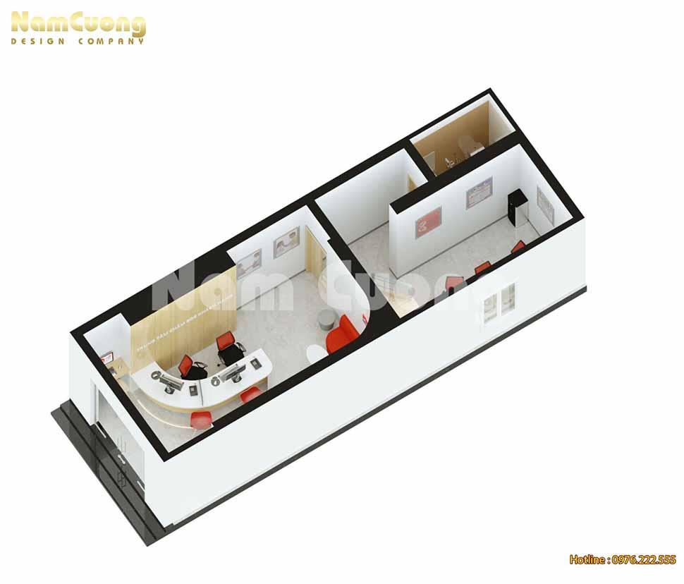 sơ đồ tầng 1 trụ sở
